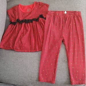 Blouse and pant set